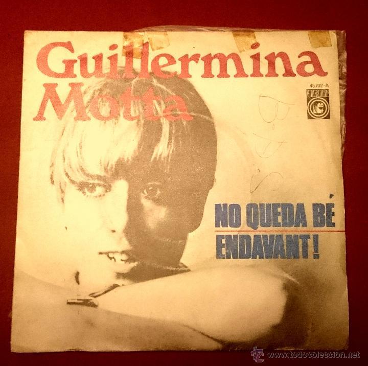 GUILLERMINA MOTTA - NOQUEDA BÉ - CONCERINRIC 1.967 (Música - Discos - Singles Vinilo - Solistas Españoles de los 50 y 60)