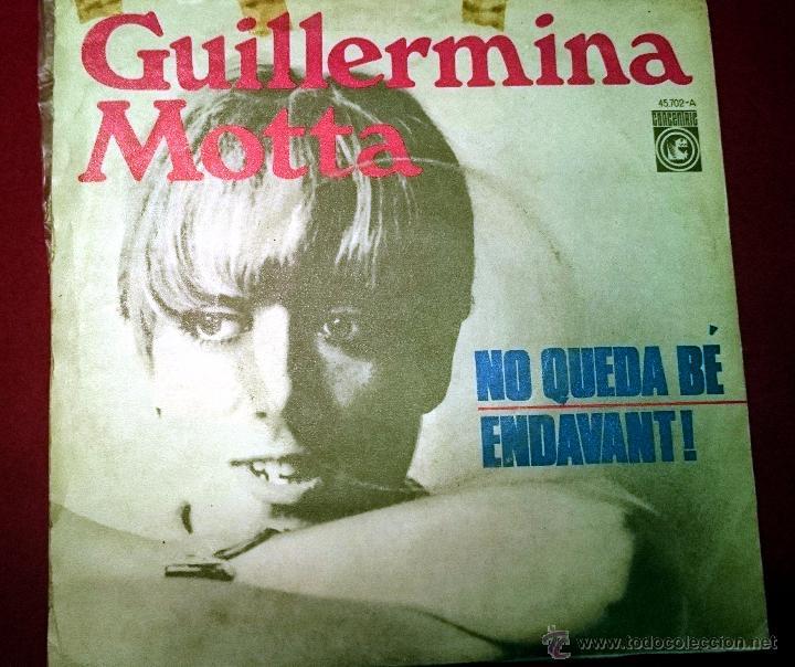 Discos de vinilo: Guillermina Motta - Noqueda bé - Concerinric 1.967 - Foto 2 - 49421294