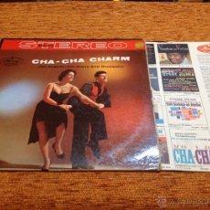 Discos de vinilo: CHA-CHA CHARM - JAN AUGUST HIS PIANO AND ORCHESTRA - MERCURY - DISCO LP VINILO. Lote 49421300
