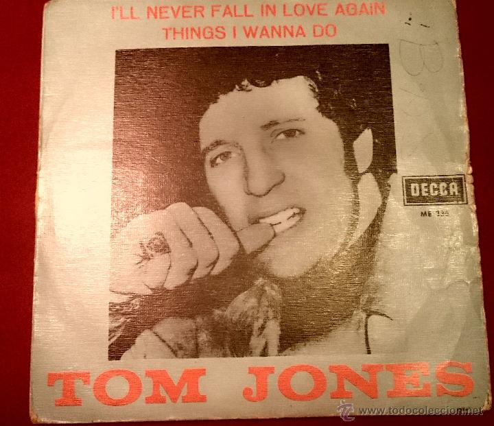 Discos de vinilo: TOM JONES - I LL NEVER FALL IN LOVE AGAIN - DECCA 1967 - Foto 1 - 49421327