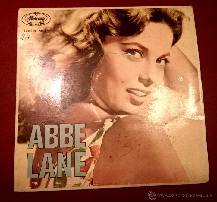 ABBE LANE - ADIOS PAMPA MIA - MERCURY - 1963 (Música - Discos de Vinilo - EPs - Bandas Sonoras y Actores)