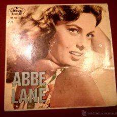 Discos de vinilo: ABBE LANE - ADIOS PAMPA MIA - MERCURY - 1963. Lote 49421344
