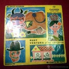 Discos de vinilo: RUDY VENTURA Y SU CONJUNTO - MI VACA LECHERA .. - COLUMBIA 1960. Lote 49421368