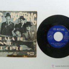 Discos de vinilo: LOS MUSTANG - BALADA DE BONNIE AND CLYDE AÑO 1968 EDITA LA VOZ DE SU AMO . Lote 49423302
