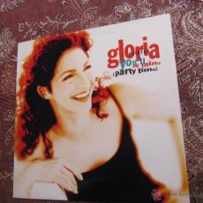 Discos de vinilo: GLORIA ESTEFAN- MAXI-SINGLE DE VINILO- TITULO YOU' LL BE MINE- 5 TEMAS- DEL 96- NUEVO. Lote 49424340