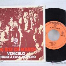Discos de vinilo: SINGLE VINILO - THE IDES OF MARCH. VEHÍCULO / LLÉVAME A CASA DESPACIO - ED. HISPAVOX - ESPAÑA, 1970. Lote 49426596