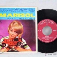 Discos de vinilo: EP VINILO - MARISOL. EL COCHECITO / CABRIOLA / YA NO ME IMPORTAS NADA... - ED. ZAFIRO, AÑO 1965. Lote 49428133