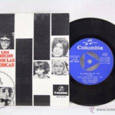 Discos de vinilo: EP VINILO - LOS BRAVOS. BSO LOS CHICOS CON LAS CHICAS. TE QUIERO ASÍ / YOU'LL... - COLUMBIA,1967. Lote 49428549