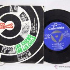 Discos de vinilo: EP VINILO - LOS BRAVOS. BSO LOS CHICOS CON LAS CHICAS. AL PONERSE EL SOL - COLUMBIA,1967. Lote 49428566