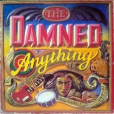 Discos de vinilo: DAMNED. ANYTHING. MCA, UK FIRST PRESSING 1986 (LP + DOBLE CARPETA CON RECORTABLE). Lote 49430250