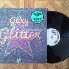 Discos de vinilo: GARY GLITTER - GLITTER - 1º LP CANADA 1972 GLAM ROCK - CARPETA VG+ VINILO EX-. Lote 49431953