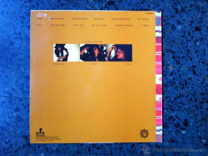 Discos de vinilo: SACRED DOLLS - Sacred Dolls. Heavy Metal, 1989 - Foto 2 - 49432591