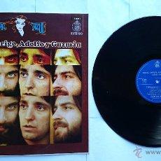 Discos de vinilo: CANOVAS, RODRIGO, ADOLFO Y GUZMAN - SEÑORA AZUL (1974) (REEDICION 1981). Lote 49438337