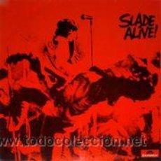 Discos de vinilo: SLADE - SLADE ALIVE! (LP). Lote 49440059