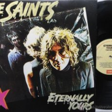 Discos de vinilo: THE SAINTS- ETERNALLY YOURS- EMI AUSTRALIA 1987- LP REPRESS- COMO NUEVO.. Lote 49443641