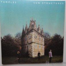 Discos de vinilo: TEMPLES- SUN STRUCTURES- UK 2 LP 2014- TRIFOLD CARDBOARD SLEEVE- IMPECABLE.. Lote 49444239