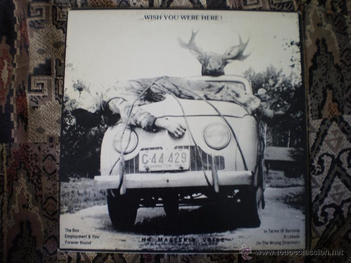 Discos de vinilo: LP. NATURECORE. WITH LOVE....WISH YOU WERE HERE. AÑO 1986 - Foto 2 - 49445547