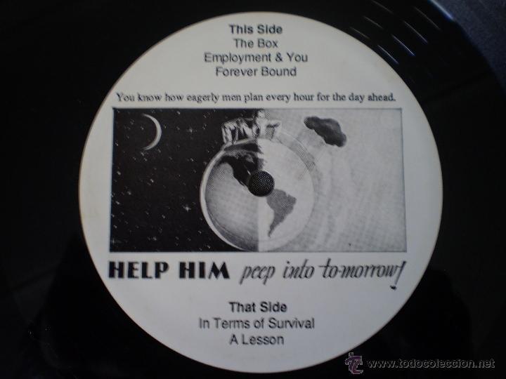 Discos de vinilo: LP. NATURECORE. WITH LOVE....WISH YOU WERE HERE. AÑO 1986 - Foto 3 - 49445547