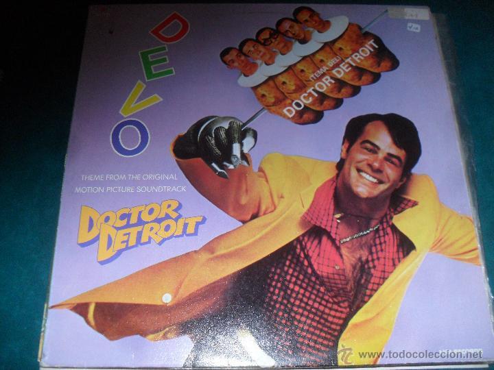 DEVO, DOCTOR DETROIT. B.S.O MCA RECORDS 1983 (Música - Discos de Vinilo - Maxi Singles - Bandas Sonoras y Actores)
