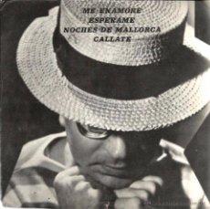 Discos de vinilo: EP CONJUNTO BATÓ ( MESIÉ BATÓ) : ME ENAMORE + ESPERAME + CALLATE + NOCHES DE MALLORCA . Lote 49451381
