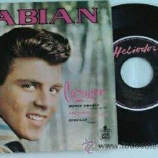 Discos de vinilo: FABIAN -EP- CAZADOR + 3 SPAIN 1960. Lote 49451971