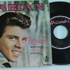 Disques de vinyle: FABIAN -EP- CAZADOR + 3 SPAIN 1960. Lote 49451971