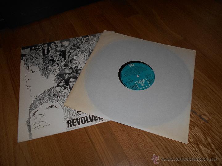 LP THE BEATLES // REVOLVER // ODEON B. 28.985 1966 (Música - Discos de Vinilo - Maxi Singles - Pop - Rock Internacional de los 50 y 60)