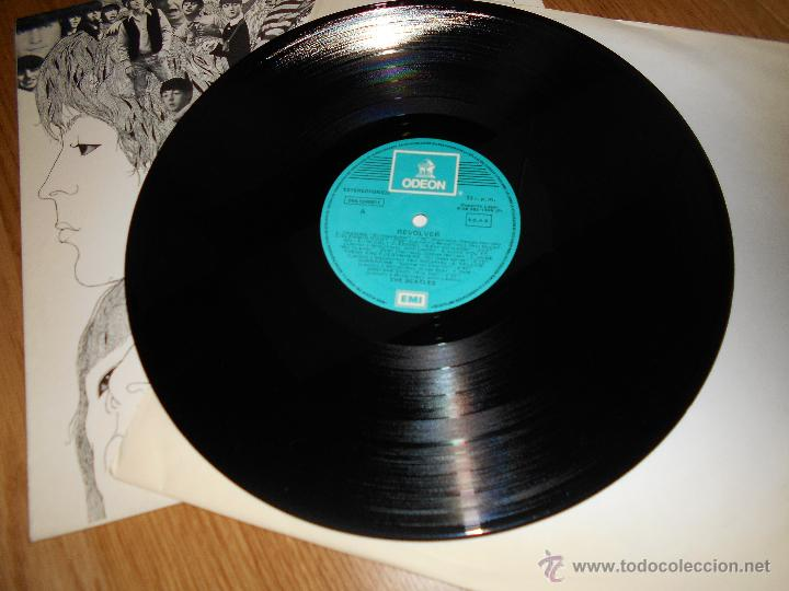 Discos de vinilo: LP THE BEATLES // REVOLVER // ODEON b. 28.985 1966 - Foto 3 - 49452516
