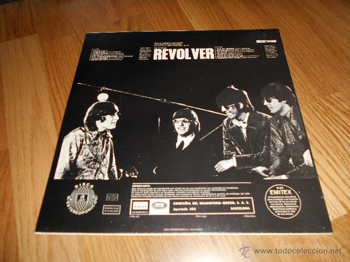 Discos de vinilo: LP THE BEATLES // REVOLVER // ODEON b. 28.985 1966 - Foto 5 - 49452516