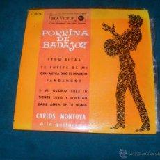 Discos de vinilo: PORRINA DE BADAJOZ. RCA 1962, EP 4 TEMAS. Lote 49455123