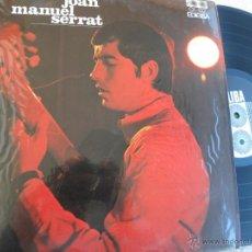 Discos de vinilo: JOAN MANUEL SERRAT -LP 1967 -BUEN ESTADO. Lote 49455575