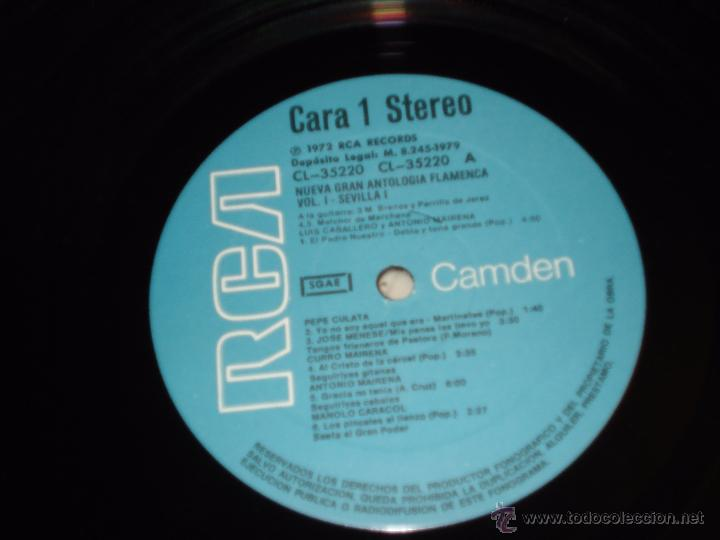 Discos de vinilo: GRAN ANTOLOGIA FLAMENCA - CAJA CON 10 LP - 1979 CON LIBRETO - Foto 3 - 212773002