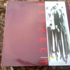 Discos de vinilo: RESPECT (DRO, 1993) - MOVIDA SOUL POP MADRID. SIROCO SOUND TIPO ALCOHOL JAZZ, FLORES MUERTAS. Lote 49460404