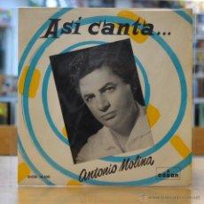 Discos de vinilo: ANTONIO MOLINA - SOLEARES - + 3 - EP. Lote 49461175
