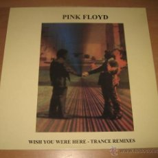 Discos de vinilo: LP PINK FLOYD WISH YOU WERE HERE TRANCE REMIXES LIMITED EDITION SYD - RARO. Lote 49463774