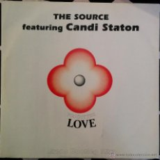 Discos de vinil: THE SOURCE FEATURING CANDI STATON, YOU GOT THE LOVE (ERENS BOOTLEG MIX) MAXI-SINGLE. Lote 49467369
