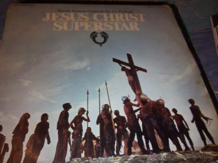 LP.DISCO VINILO DOBLE.JESUS CHRIST SUPERSTAR,VERSIÓN ESPAÑOLA (Música - Discos - LP Vinilo - Pop - Rock Extranjero de los 50 y 60)