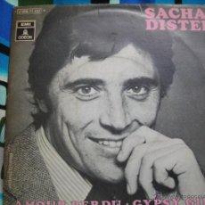 Disques de vinyle: SACHA DISTEL -AMOUR PERDU-GYPSY GIRL-. Lote 49471741