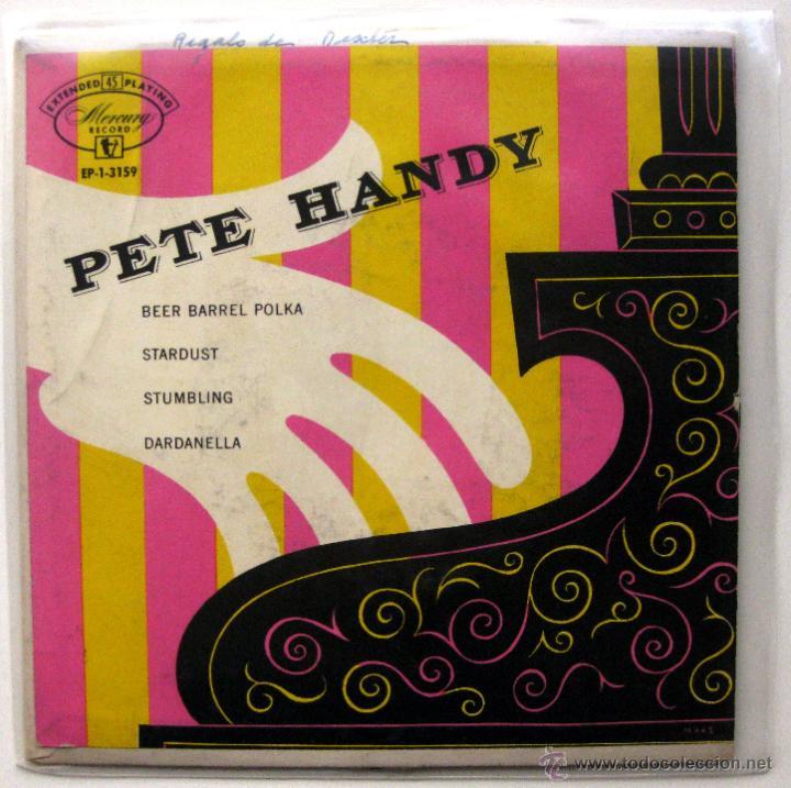 PETE HANDY - BEER BARREL POLKA - EP MERCURY 1954 USA BPY (Música - Discos de Vinilo - EPs - Jazz, Jazz-Rock, Blues y R&B)
