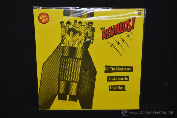 THE REVILLOS - DO THE MUTILATION / SNATZOMOBILE - MAXI (Música - Discos de Vinilo - Maxi Singles - Punk - Hard Core)