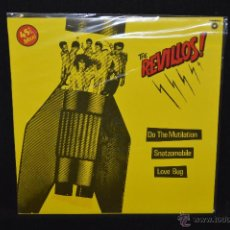 Discos de vinilo: THE REVILLOS - DO THE MUTILATION / SNATZOMOBILE - MAXI. Lote 49472545