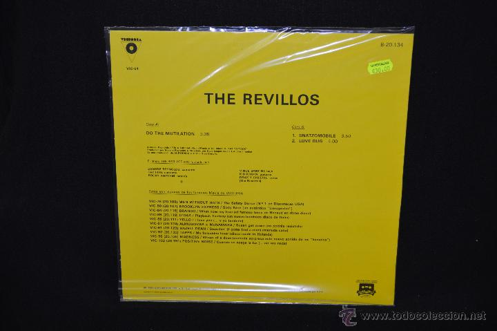 Discos de vinilo: THE REVILLOS - DO THE MUTILATION / SNATZOMOBILE - MAXI - Foto 2 - 49472545