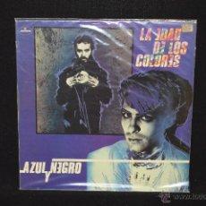 Discos de vinilo: AZUL Y NEGRO - LA EDAD DE LOS COLORES - LP. Lote 145789852
