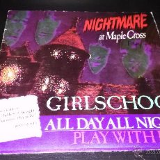 Discos de vinilo: GIRLSCHOOL - ALL DAY ALL NIGHT. Lote 49477313