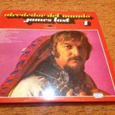Discos de vinilo: DISCO LP VINILO (2) - JAMES LAST- ALREDEDOR DEL MUNDO - POLYDOR 1976 - MUY BUEN ESTADO. Lote 49477505