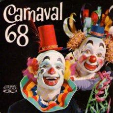 Discos de vinilo: CARNAVAL 68: CLAUDIA BARROSO + ROBERTO AMARAL + LEO ROMANO - EP VINILO 7'' - EDITADO EN PORTUGAL. Lote 49481195