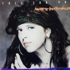 Discos de vinilo: ANNETTE HOPFENMÜLLER - FALL FOR YOU . MAXI SINGLE . 1987 MARLBORO MUSIC GERMANY. Lote 49487652