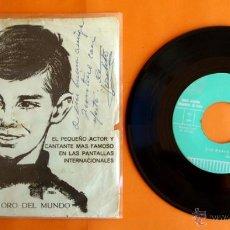 Discos de vinilo: DISCO DE VINILO FIRMADO CON DEDICATORIA DE JOSELITO - JOSELITO - SUEVIA FILMS - CESARIO GONZALEZ . Lote 49491338
