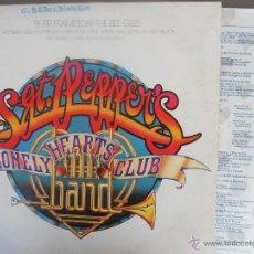 Disques de vinyle: SGT.PEPPER'S LONELY HEARTS CLUB BAND-LP DOBLE- VARIOS-PORT.ABIERTA-ESPAÑOL 1978-ENCARTE. Lote 49491621