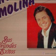 Discos de vinilo: LP ANTONIO MOLINA : SUS GRANDES EXITOS . Lote 49492003